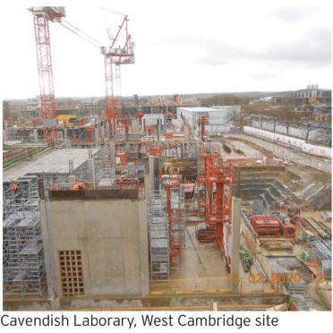 The Cambridge City Council Works in Progress Award