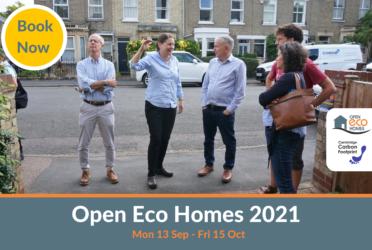 CFCI supports Cambridge Carbon Footprint Open Eco Homes